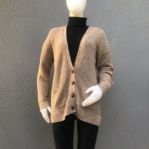 Club Monaco Brown Amber Cardigan Size Small